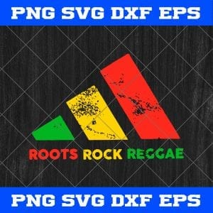 Adidas Africa Color Roots Rock Reggae Svg, Dxf, Png, Eps Cricut File Silhouette Art