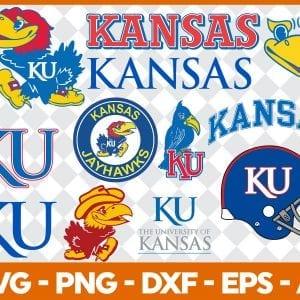 Kansas Jayhawks Svg