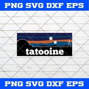 Star Wars Tatooine SVG PNG EPS DXF – Star Wars SVG PNG