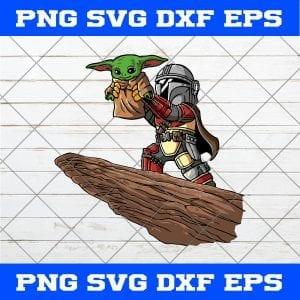 The Lion King The Mandalorian Boba Fett Baby Yoda SVG PNG EPS DXF