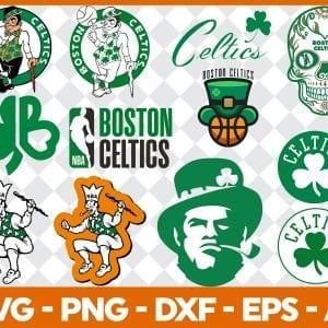 Boston Celtics Logo SVG