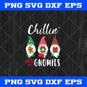 Christmas Gnomes SVG