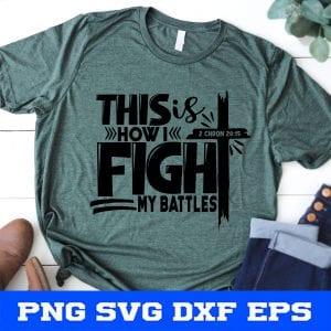 Fight my battles svg