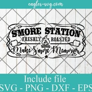 Making Smore Memories SVG PNG DXF EPS Cricut Silhouette