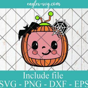 Cocomelon Little Pumpkin Svg Png Dxf Eps Cricut Silhouette, kids Cartoons Svg