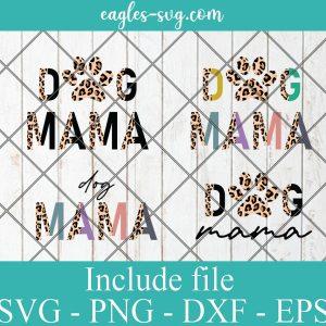 Dog Mama Half Leopard svg png, dog mom leopard svg png, dog mom svg, Fur Mom, Dog Quotes, cheetah, Fur Mama svg