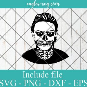 Evan Peters American Horror Story SVG PNG DXF Cricut Silhouette, Celebrities vector