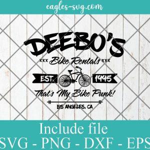Deebo's Bike Rental SVG, Deebo, Big worm, Ice Cube, Mens Rapper Svg, Friday movie, 90s Hip Hop Svg for cricut