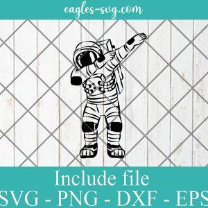 Dabbing Astronaut Svg, Space Svg, Planets Svg Png, Cricut, Silhouette Cut Files