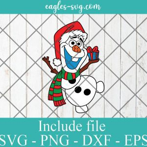Disney olaf frozen Svg, Merry Christmas Svg Png, Cricut, Silhouette Cut Files