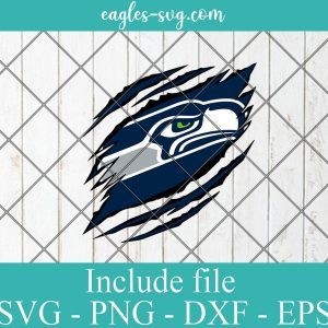 Seattle Seahawks Ripped Claw svg, Seattle Seahawks svg, Seahawks Ripped Claw, Seahawks svg, Clipart, Logo, png, Svg File For Cricut