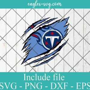 Tennessee Titans Ripped Claw svg, Tennessee Titans svg, Titans Ripped Claw, Titans svg, Clipart, Logo, png, Svg File For Cricut